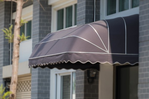 Choosing awning for retail shops